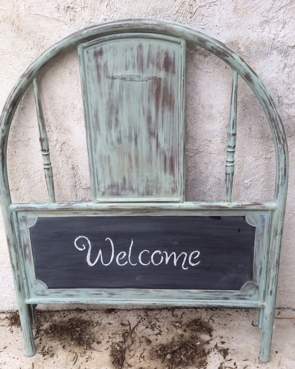 Annie sloan antoinette chalk paint 174 - 4 Ft Mirror Painted In Annie Sloan Custom Mix Of Florence Provence And Duck Egg Distressed To Show Gold Undertones Waxed With Mix Of Dark And Clear With